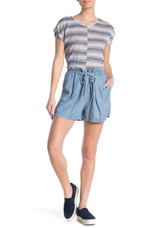 Vince Camuto High Waisted Paperbag Shorts