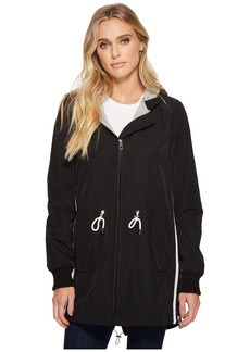 Vince Camuto Hooded Parka with Drawstring Waist