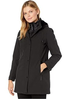 Vince Camuto Hooded Softshell with Bib V29737