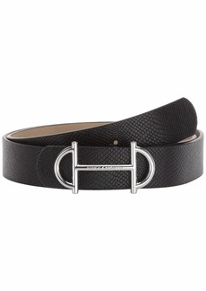 Vince Camuto Horse Bit Panel Belt
