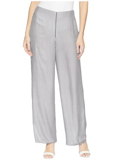 Vince Camuto Island Pinstripe Wide Leg Pants