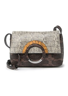 Vince Camuto Keyln Snake Embossed Leather Crossbody Bag