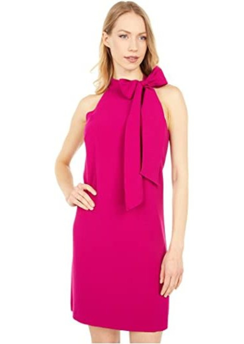 Vince Camuto Kors Crepe Bow Neck Shift