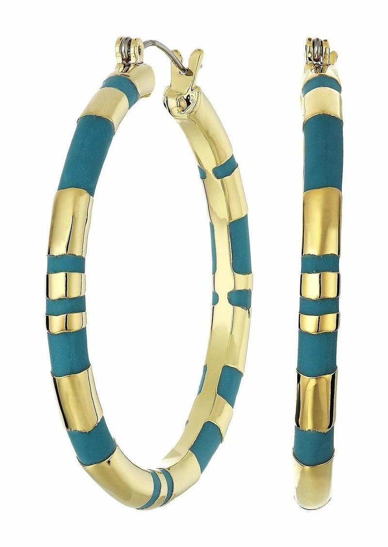 Vince Camuto Large Hoop Earrings