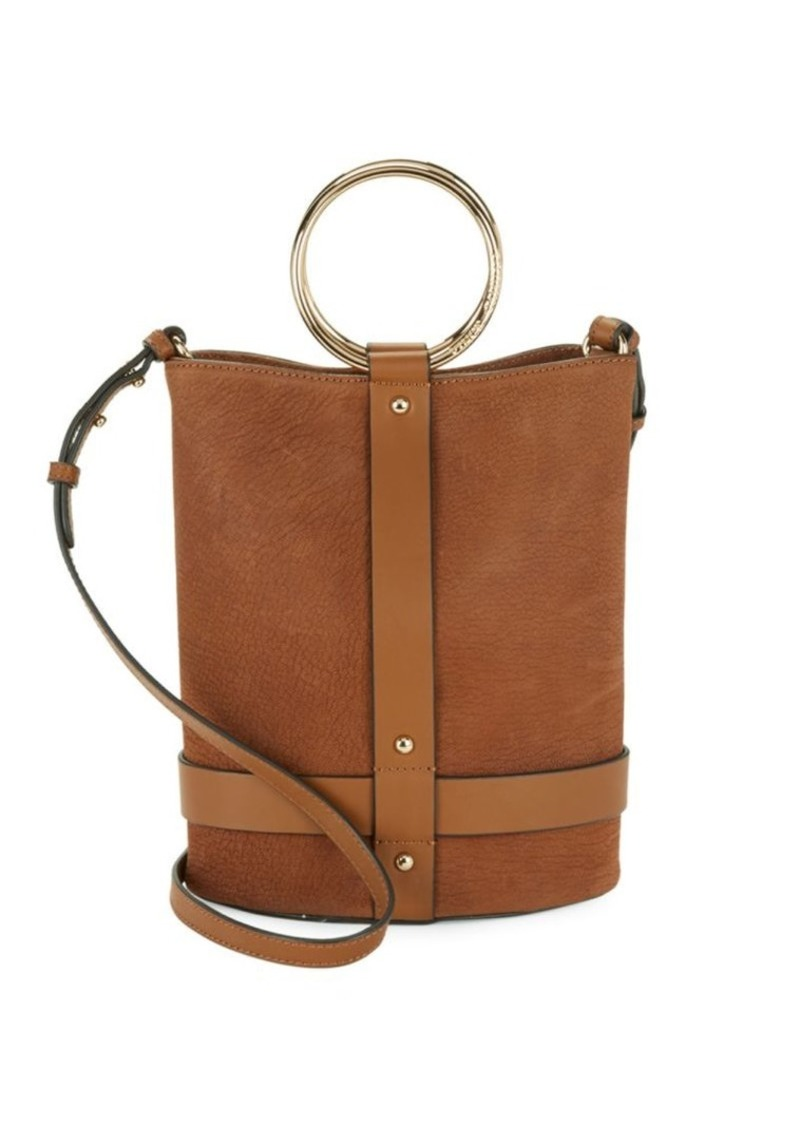 Vince Camuto Leather Bucket Bag