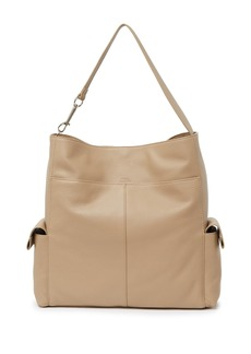 Vince Camuto Garri Leather Shoulder Hobo Bag