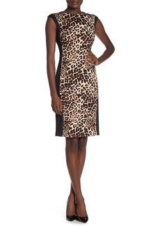 Vince Camuto Leopard Print Bodycon Dress