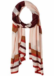 Vince Camuto Lightweight Stripe Knit Wrap