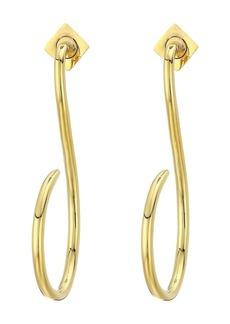 Vince Camuto Linear Hoop Earrings