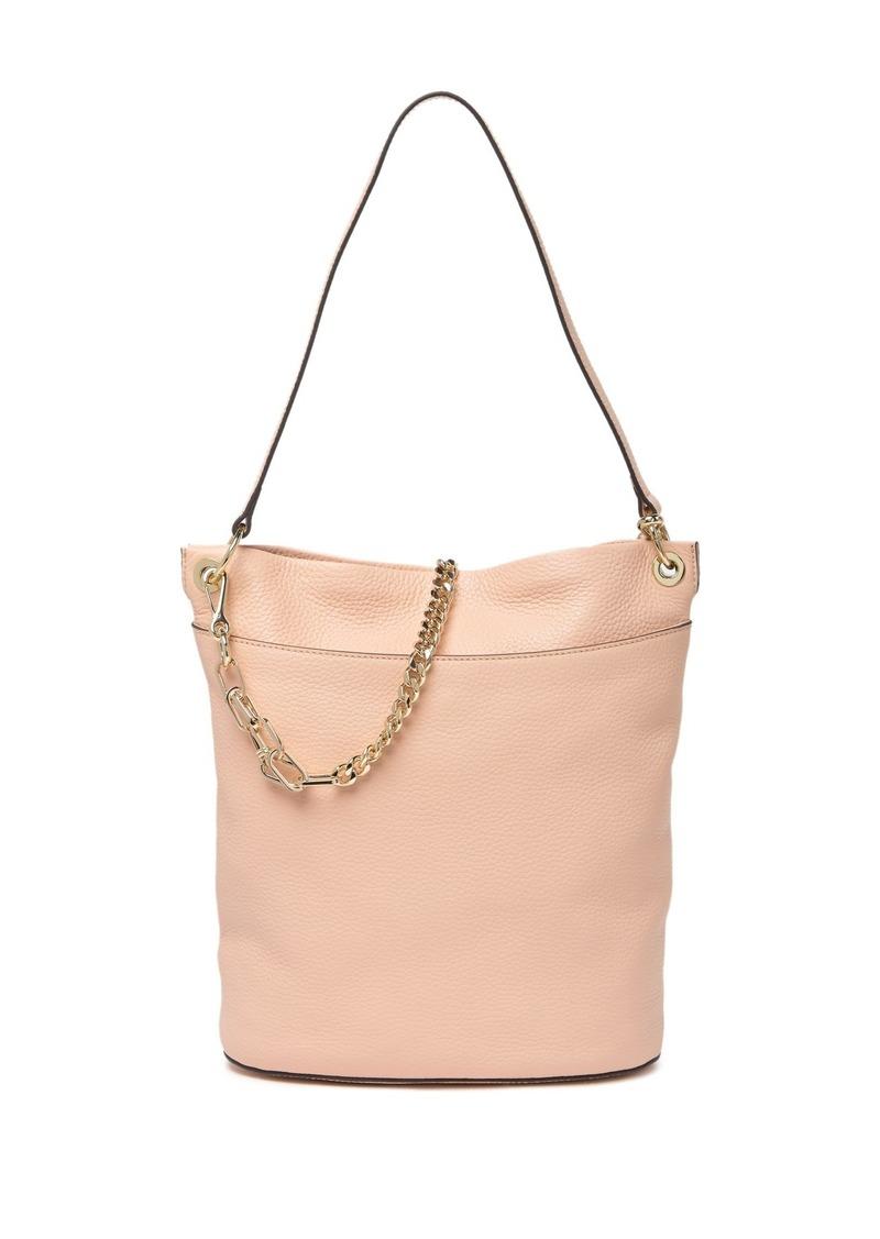 Vince Camuto Liya Leather Hobo Bag