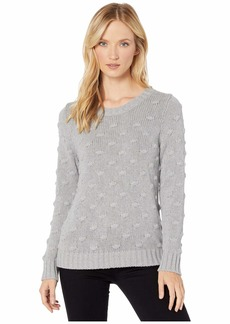 Vince Camuto Long Sleeve All Over Popcorn Sweater