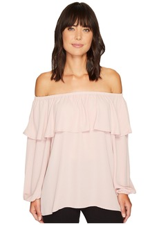 Vince Camuto Long Sleeve Ruffled Off Shoulder Blouse