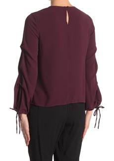 Vince Camuto Long Tie Sleeve Blouse