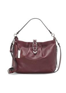 Vince Camuto Luk Leather Crossbody Satchel Bag