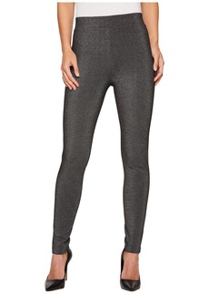 Vince Camuto Metallic Ponte Leggings