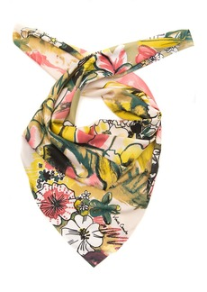 Vince Camuto Mixed Media Square Scarf
