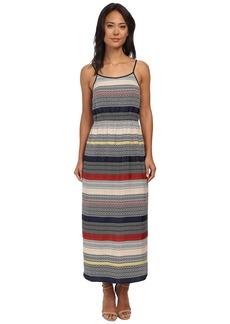 Vince Camuto Morocco Tile Stripe Maxi Dress