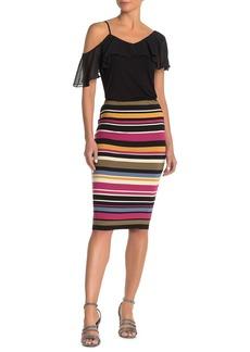 Vince Camuto Oasis Stripe Tube Skirt