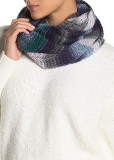Vince Camuto Ombre Stitch Loop Infinity Scarf
