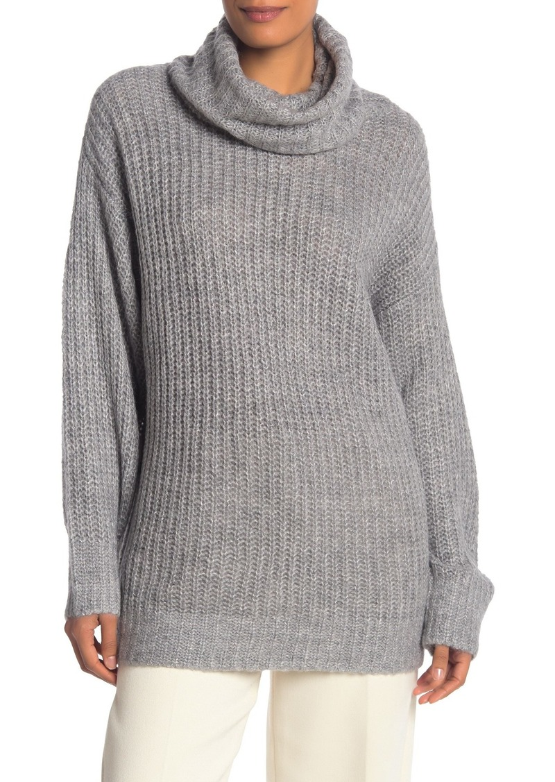 Vince Camuto Oversized Turtleneck Knit Sweater