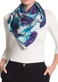 Vince Camuto Painted Poppies Scarf