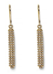 Vince Camuto Pave Bar Earrings