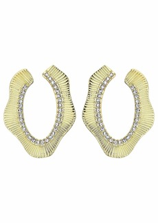 Vince Camuto Pave Wrap Around Earrings
