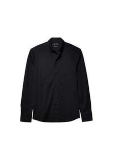 Vince Camuto Pique Knit Sport Shirt
