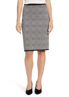 Vince Camuto Plaid Sweater Skirt