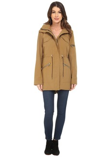 Vince Camuto Polyester Coated Parka K8691
