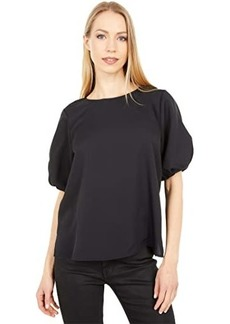 Vince Camuto Puff Sleeve Luxe Blouse