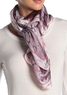 Vince Camuto Python Signature Oversized Scarf