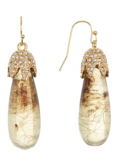 Vince Camuto Resin Drop Earrings