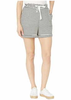 Vince Camuto Rich Stripe Drawstring Shorts