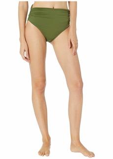 Vince Camuto Riviera Solids Convertible High-Waist Bikini Bottom