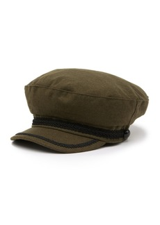 Vince Camuto Rope Trim Military Cap