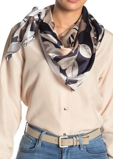 Vince Camuto Rose Shadow Signature Silk Scarf