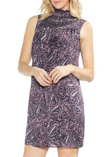 Vince Camuto Sapphire Bloom Paisley Muse Shift Dress