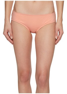 Vince Camuto Sea Scallops Shirred Smooth Fit Cheeky Bikini Bottoms