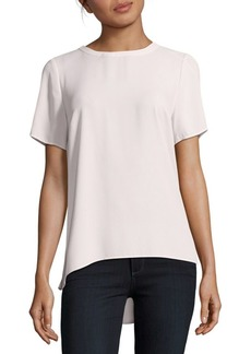 Vince Camuto Short Sleeve Hi-Lo Blouse