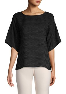 Vince Camuto Short-Sleeve Textured Top