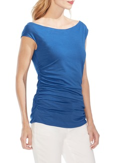 Vince Camuto Side Ruched Top
