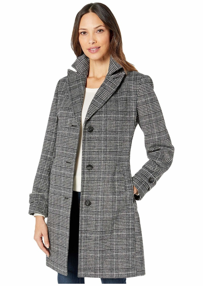 Vince Camuto Single Breasted Wool Coat V29723A