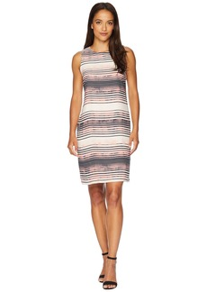 Vince Camuto Sleeveless Ancient Muses Shift Dress