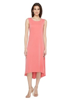 Vince Camuto Sleeveless High-Low Hem Dress