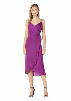Vince Camuto Sleeveless Rumple Cami Wrap Dress