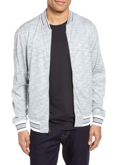 Vince Camuto Slim Fit Reversible Bomber Jacket