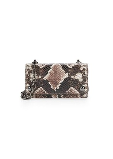 Vince Camuto Small Leather Snakeskin Print Crossbody Bag