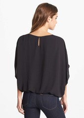 Vince Camuto Solid 3/4 Sleeve Batwing Blouse