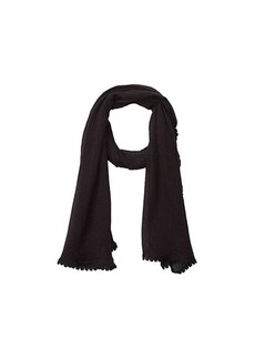 Vince Camuto Solid Tassel Wrap